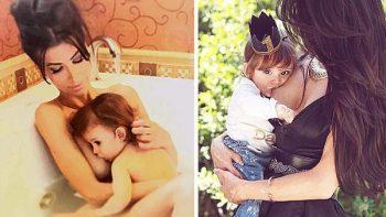 Modelo de Playboy amamanta a su hijo vía redes sociales para terminar estigma