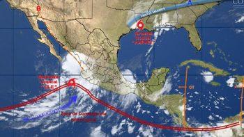 Alistan medidas de prevención en BCS por depresión tropical 14-E