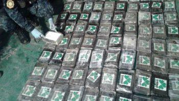 Decomisan 650 kilos de cocaína en frontera de Guatemala