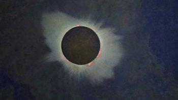 El pintor que retrató los eclipses cuando no había fotografía
