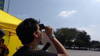 Invitan a disfrutar del Eclipse Solar con precaución