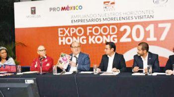 Participarán 10 empresas en exposición de alimentos en China