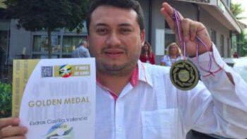 Fotógrafo yucateco gana medalla de oro en Croacia