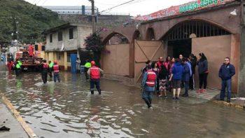 Trasladarán a 300 personas a albergues de Edomex por lluvias