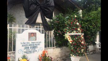 A un año de su muerte, homenajean a Juan Gabriel en Parácuaro