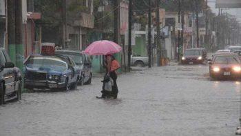 'Franklin' provoca fuertes lluvias en Tampico