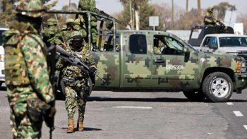 Ejército a las calles, opción a la que han recurrido varios países