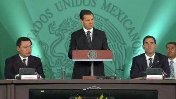 'Gobierno deja una deuda razonable', afirma Peña Nieto