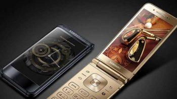 Samsung lanza un teléfono plegable