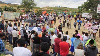 Pobladores cierran tiradero municipal en Oaxaca