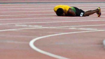 Usain Bolt se despide del atletismo con lesión durante prueba