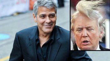 George Clooney adapta su filme al calor del mandato de Trump