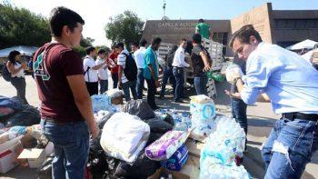 Se solidariza Monterrey con damnificados