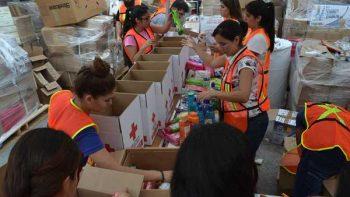 Más de 100 toneladas de ayuda llevará la Cruz Roja