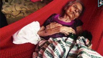 Salvar a anciana lo convirtió en el 'topo juchiteco'