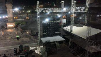 Se pospone Festival Santa Lucía por sismo en la CDMX