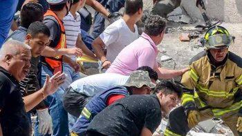 Sigue búsqueda de sobrevivientes en Álvaro Obregón 286