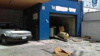 Explosión en taller de soldadura deja dos heridos y daños a Ecovía