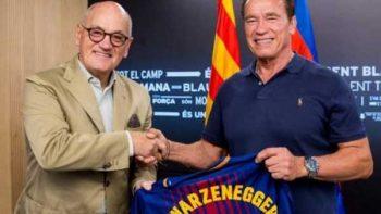 Arnold Schwarzenegger, 'refuerzo de lujo' del Barcelona