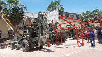 CNTE niega que impida reconstrucción de escuelas en Oaxaca