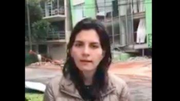 A 3 días del sismo, no pierde la esperanza de hallar a su mamá