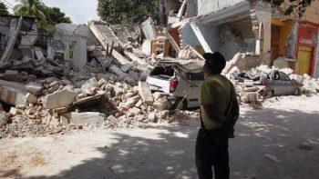 Concluyen labores de rescate en Jojutla; comienzan demoliciones