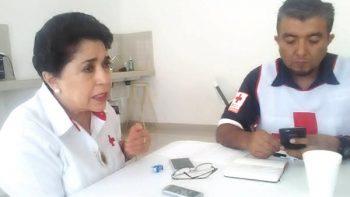 Cruz Roja Reynosa canaliza ayuda humanitaria