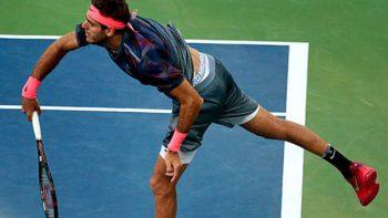 Del Potro avanza a cuartos de final del US Open, en dramático partido