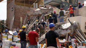 Identifican vida entre escombros de escuela Enrique Rébsamen