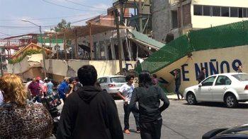 Hallan cadáver de otra niña en escuela de 'Enrique Rébsamen'