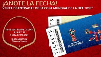 FIFA iniciará la venta de entradas para Mundial Rusia 2018