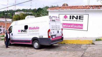 Repondrá INE credenciales de elector