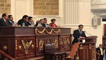 Diputado del PVEM se lanza contra Morena en Informe de Mancera