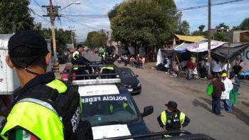 Policía Federal vigila zonas afectadas para evitar saqueos