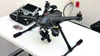 Piden castigar con 12 años de cárcel a quien use drones para narco