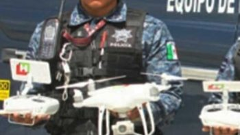 Presuntos huachicoleros atacan dron en Tula, Hidalgo