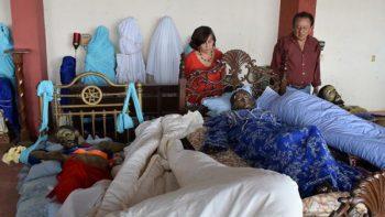 Resguardan feligreses Templo del Calvario tras sismo en Chiapas
