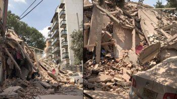 'Mi jefa me salvó, después quedó atrapada entre escombros'