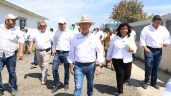 Supervisa obras de beneficio colectivo en Poblado Higuerillas