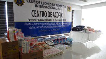 Leones llevarán apoyos a damnificados de Oaxaca y Chiapas
