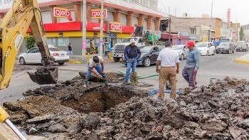 Sismos afectan servicio de agua en Nezahualcóyotl