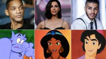 Disney anuncia elenco del live action de Aladdín