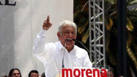 Anuncia AMLO que asumirá candidatura presidencial el 18 de febrero