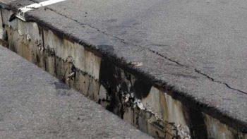 ¿Qué carreteras se dañaron con el sismo?