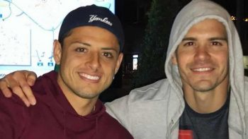 'Chicharito' sale en defensa de Sergio Dipp