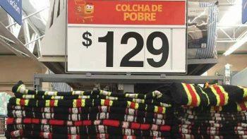 Walmart pone a la venta 'colchas para pobres'