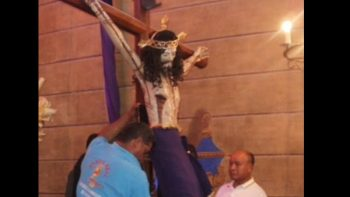 Cristo del siglo XVI 'sobrevivió' al sismo