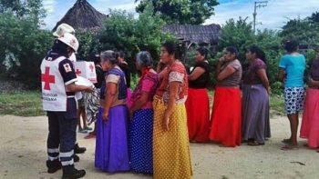 Cruz Roja ha enviado 343 toneladas de víveres tras el sismo