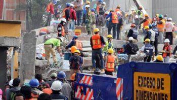 'Todavía se oyen voces de mujer entre escombros': voluntario