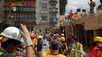 La esperanza entre los escombros; continúan las labores de rescate